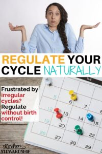 regulate your cycle naturally