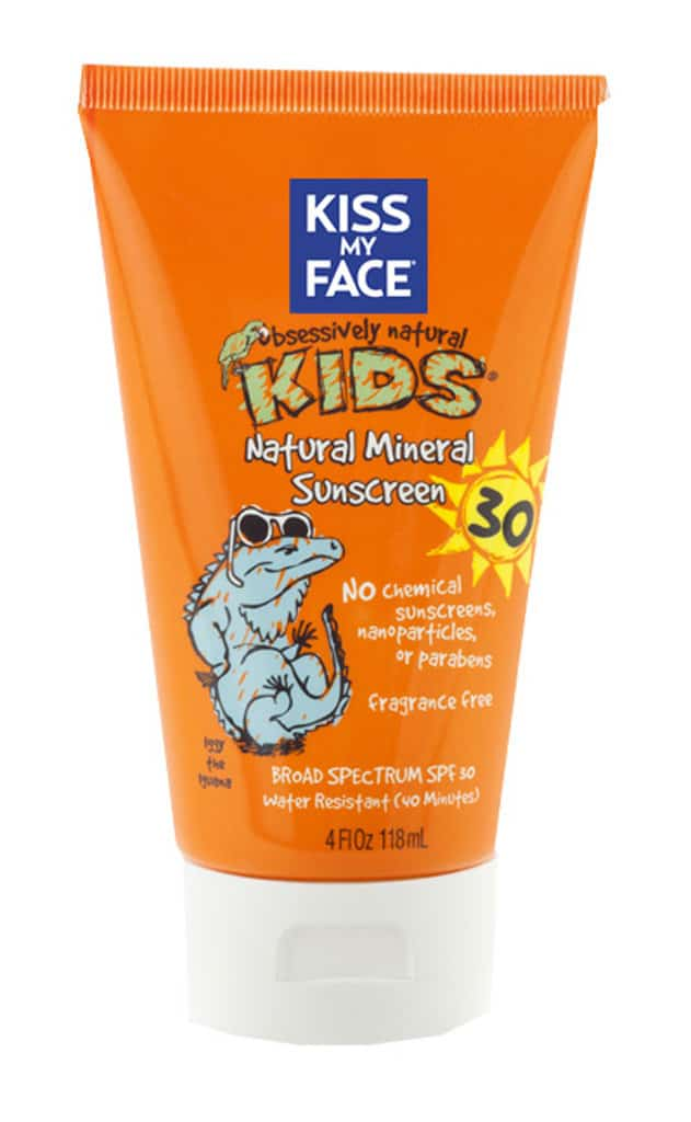 Kiss My Face Kids Natural Mineral Sunscreen Review