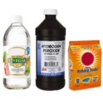Vinegar, Hydrogen Peroxide and Baking Soda
