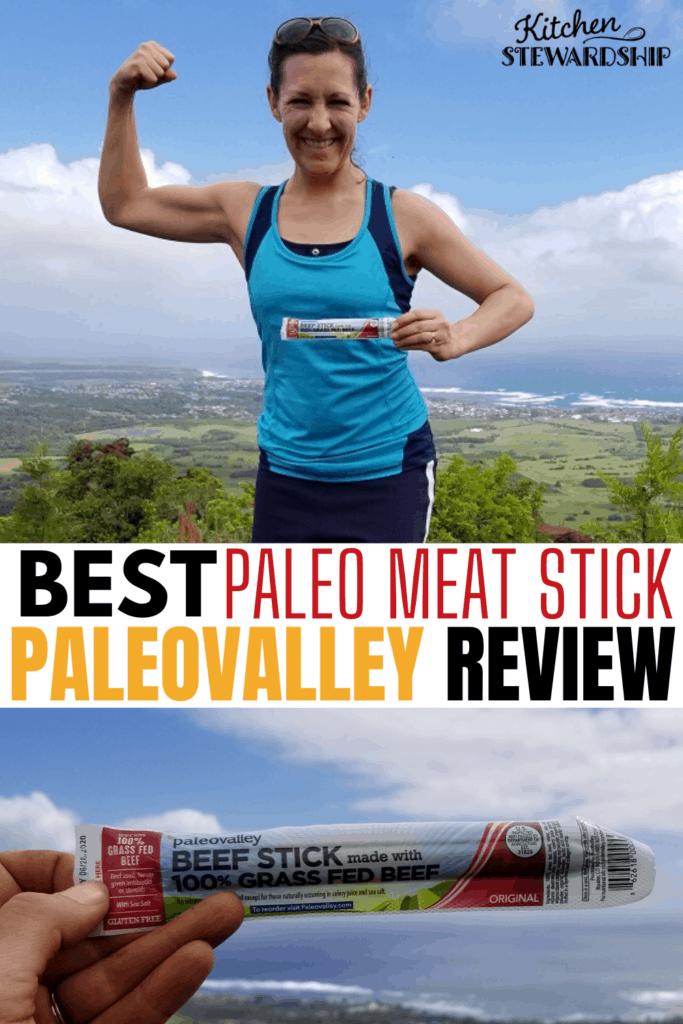 Best paleo meat stick: paleovalley Review