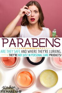 Parabens: are they safe and where they're lurking