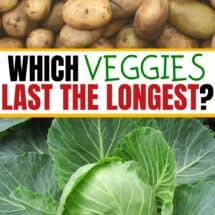 How to Keep Vegetables Fresh: Best Veggies for Long-Term Storage