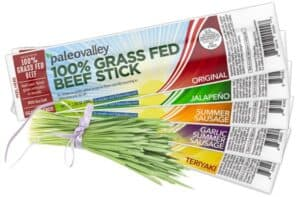 100% grass fed beef sticks, pasture raised beef sticks