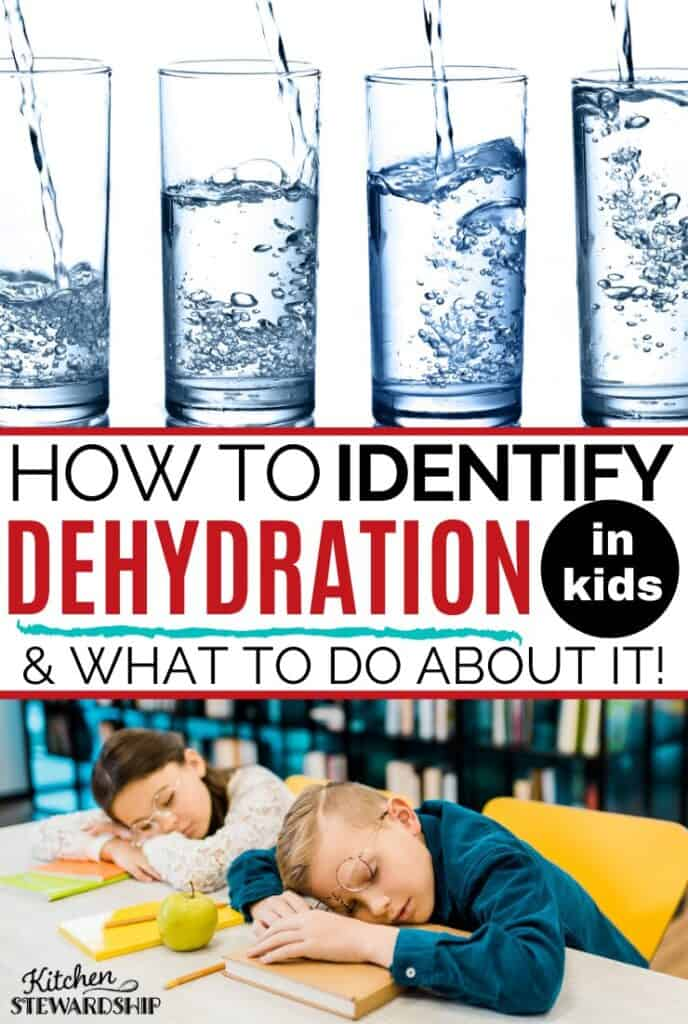 How to identify dehydration in kids