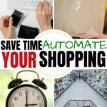 save time, automate your shopping