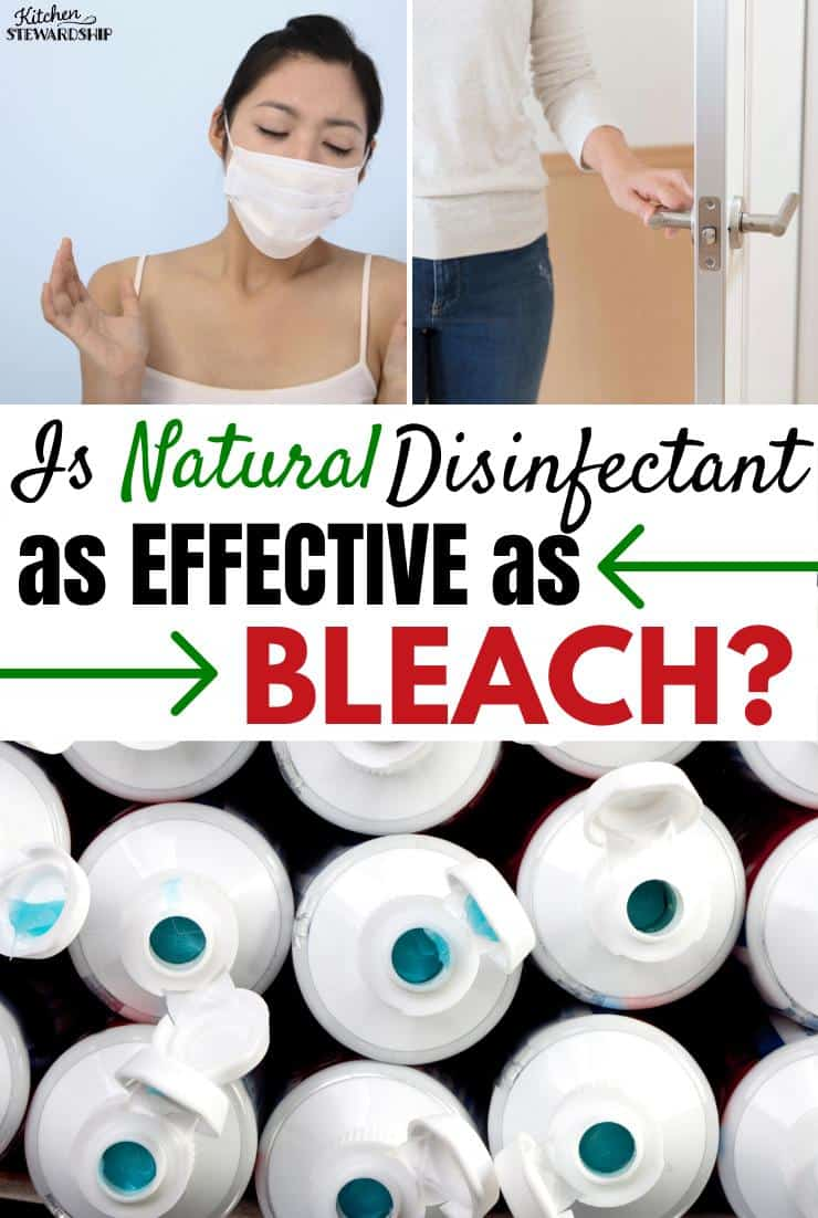 Is Natural Disinfectant as Effective as Bleach?