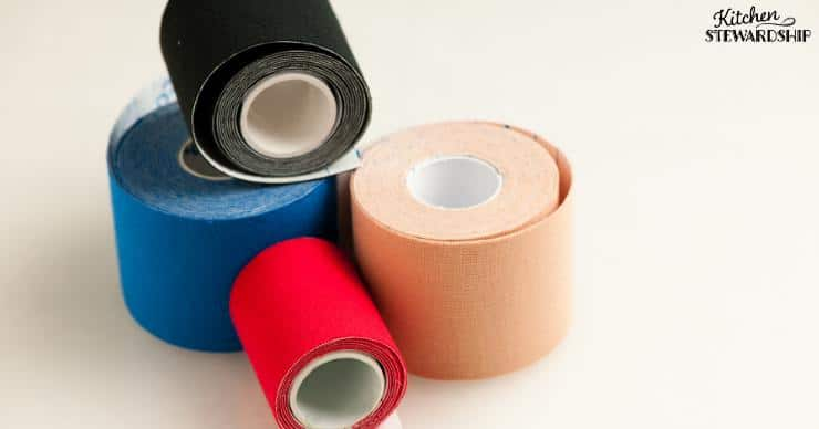 Medical tape for mouth taping