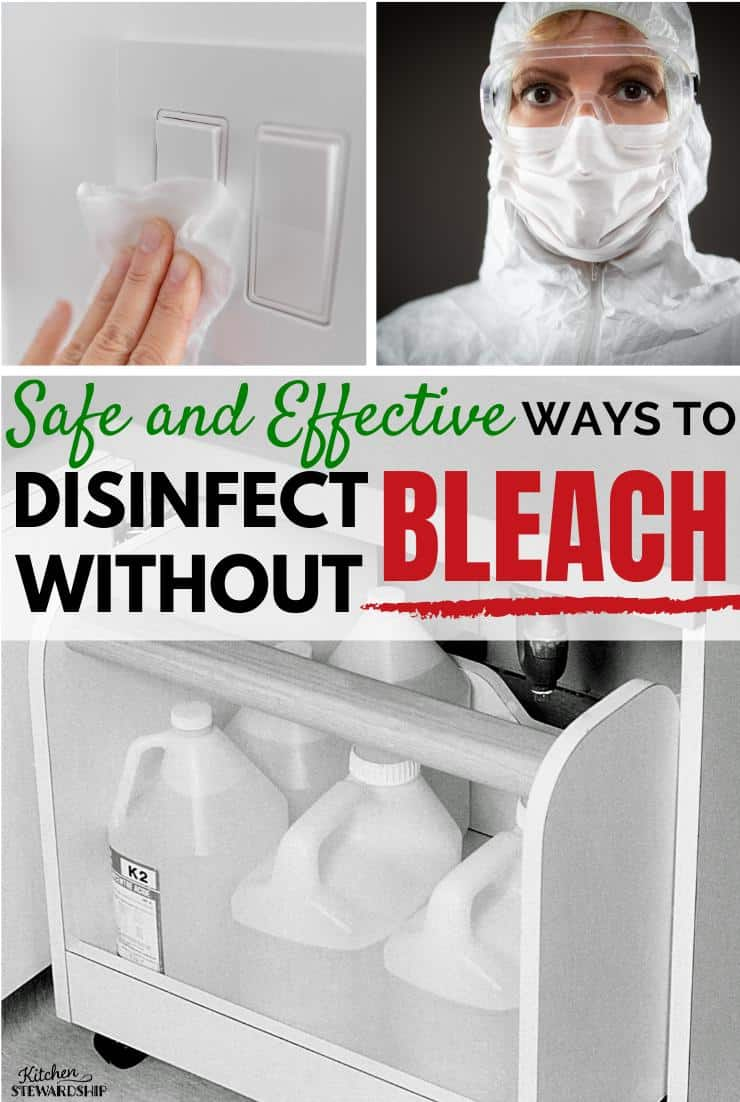 Safe and Effective ways to Disinfect Without Bleach, Disinfect Naturally