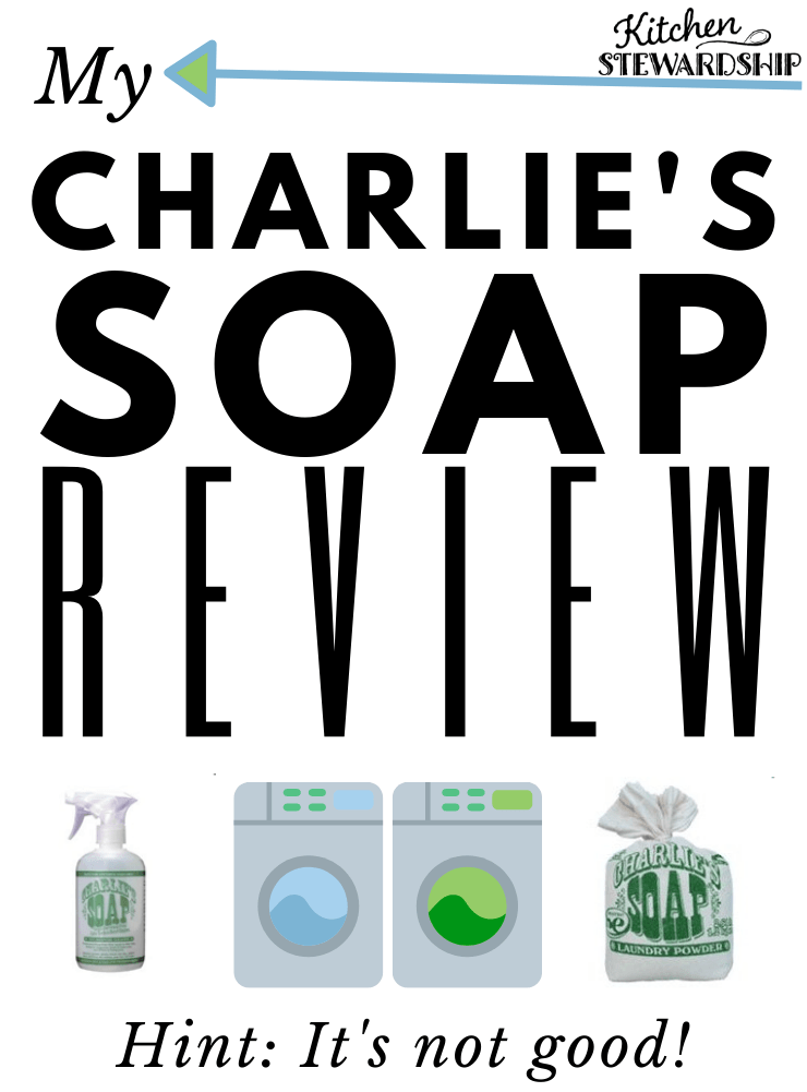 Charlier's laundry soap review