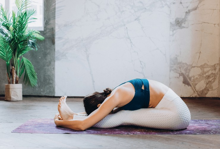 yoga for detox, at-home detox