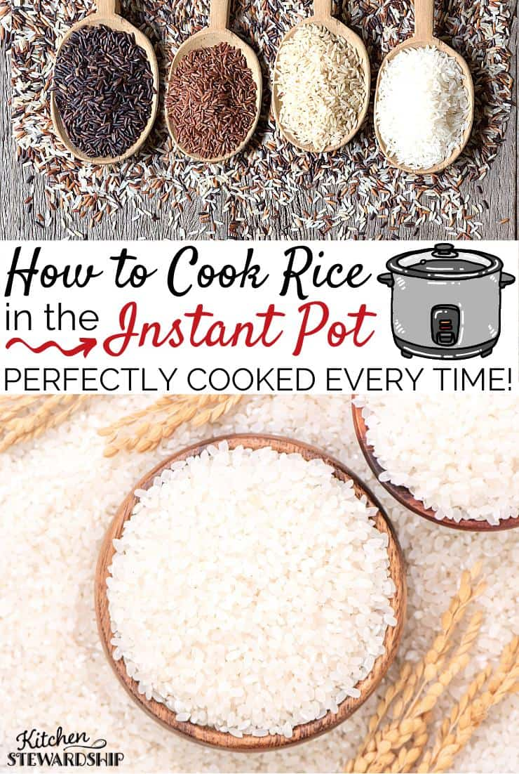How to Cook Rice in the Instant Pot - Perfect Rice every time!
