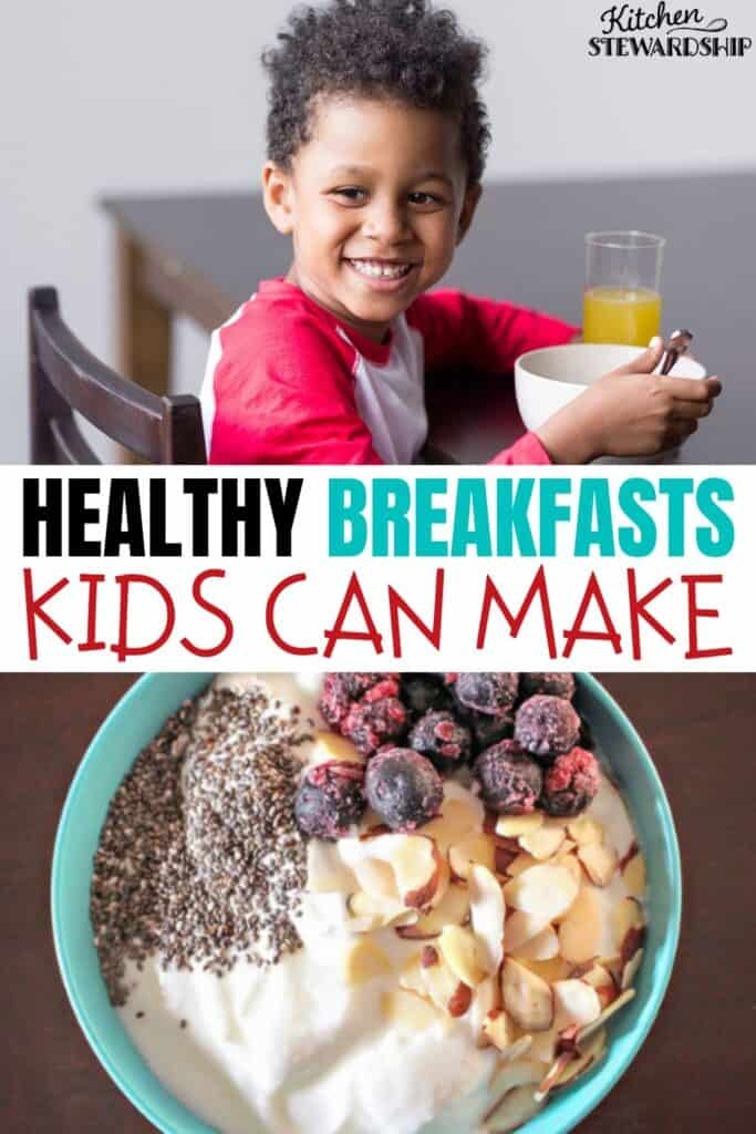 healthy breakfasts kids can make