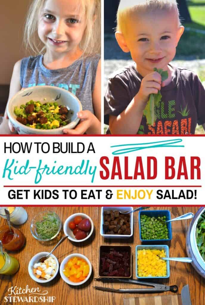 How to make a kid-friendly salad bar