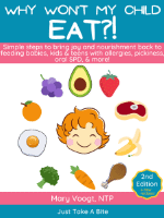 Why won't my child eat? book image
