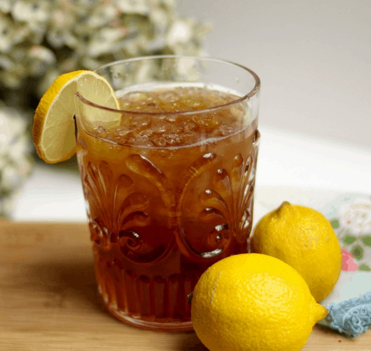 sweetening with stevia in iced tea