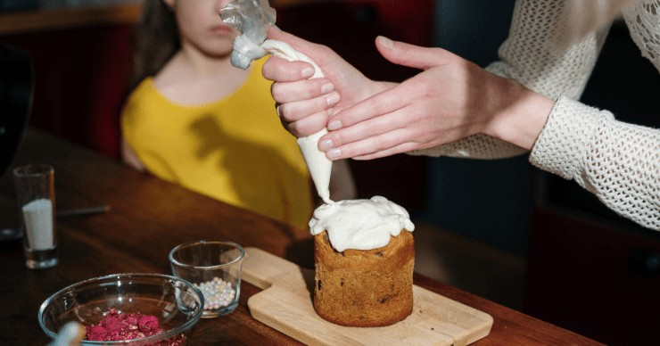 stevia as a sweetener in frosting