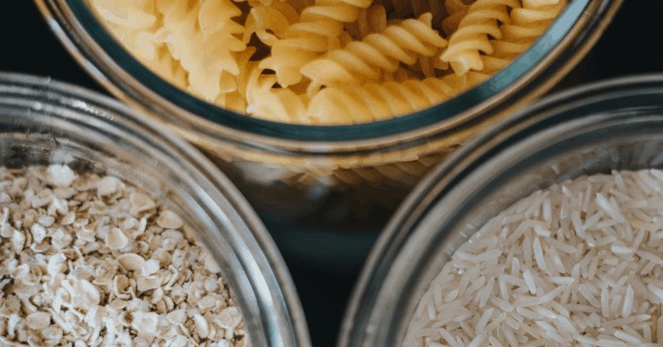 whole grains, cereal, pasta