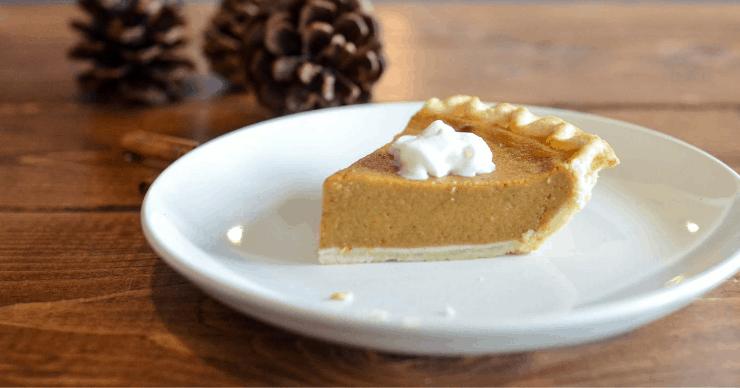 pie made with lard