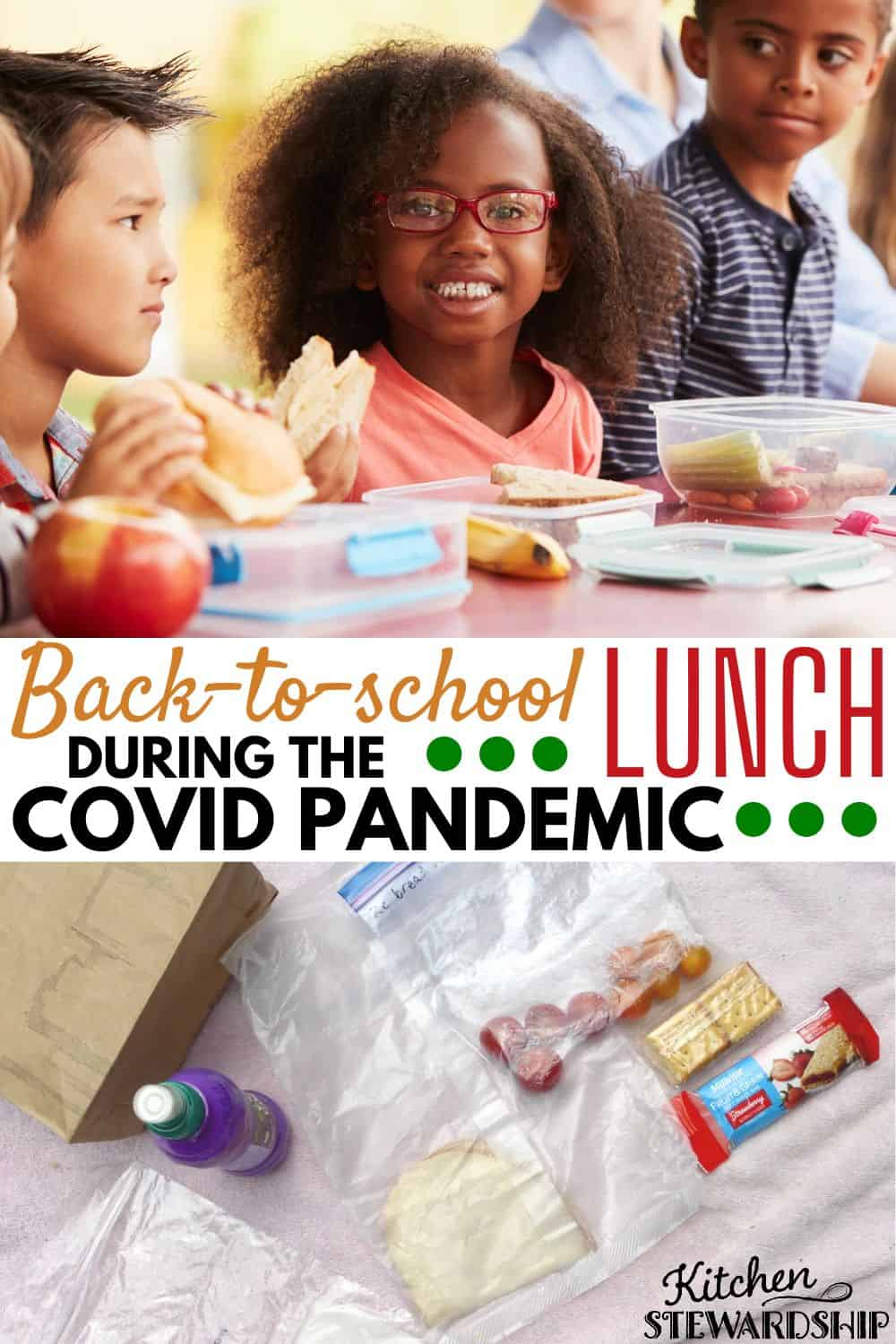 back-to-school lunch during COVID pandemic
