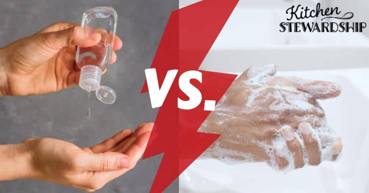 hand sanitizer vs hand soap