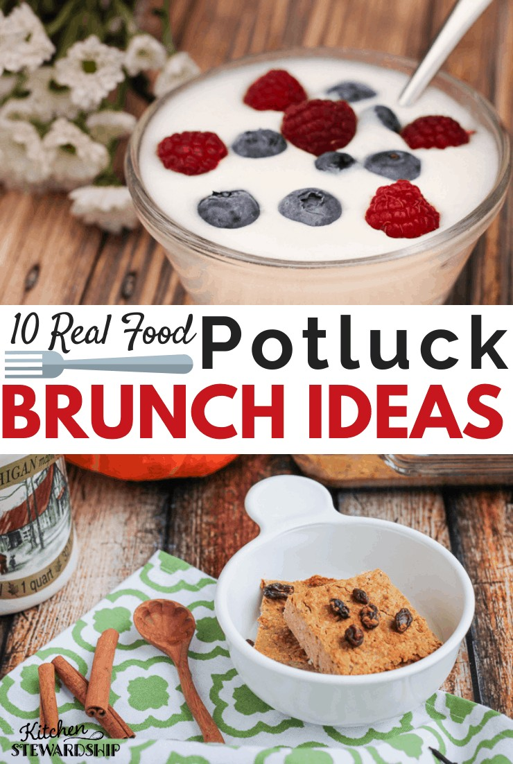10 real food potluck brunch ideas