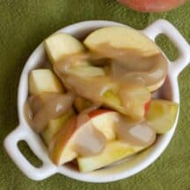 Five Minute Dairy-Free Caramel Sauce – Perfect for Dipping Apples!