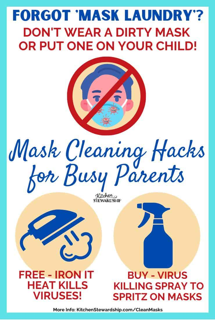 Mask Cleaning Hacks for Busy Parents