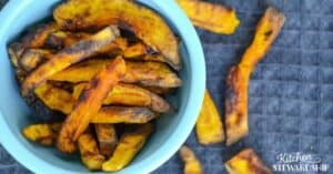 air fryer squash fries