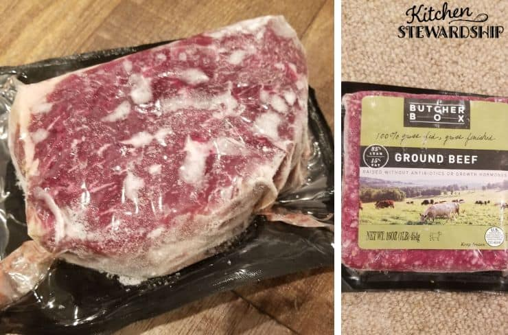 grass-fed beef from butcher box