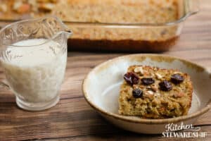 soaked baked oatmeal