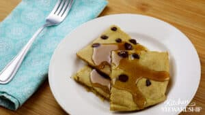chocolate chip sheet pan pancakes