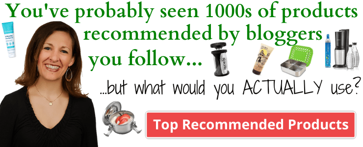 You've probably seen 1000s of products recommended by bloggers you follow...but what would you ACTUALLY use?