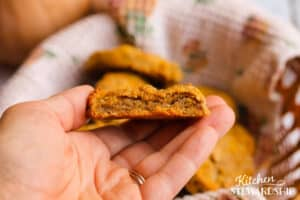 gluten-free biscuit with squash