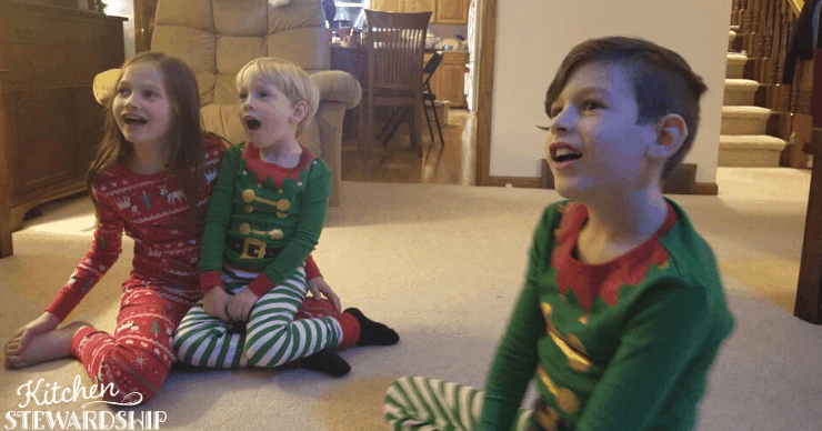 Kids in non-flame resistant pajamas