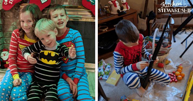 kids in non-toxic pajamas