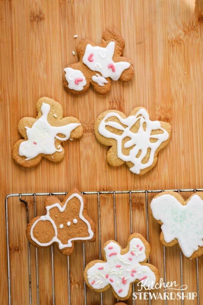 dairy-free gingerbread men