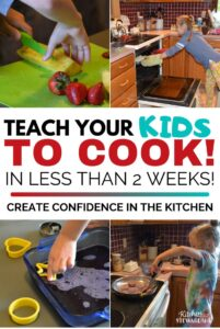 teach your kids how to cook in less than 2 weeks