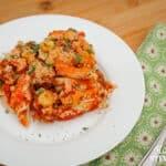 dairy-free comfort food: lasagna