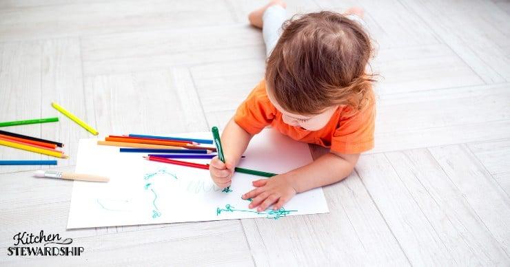 toddler coloring