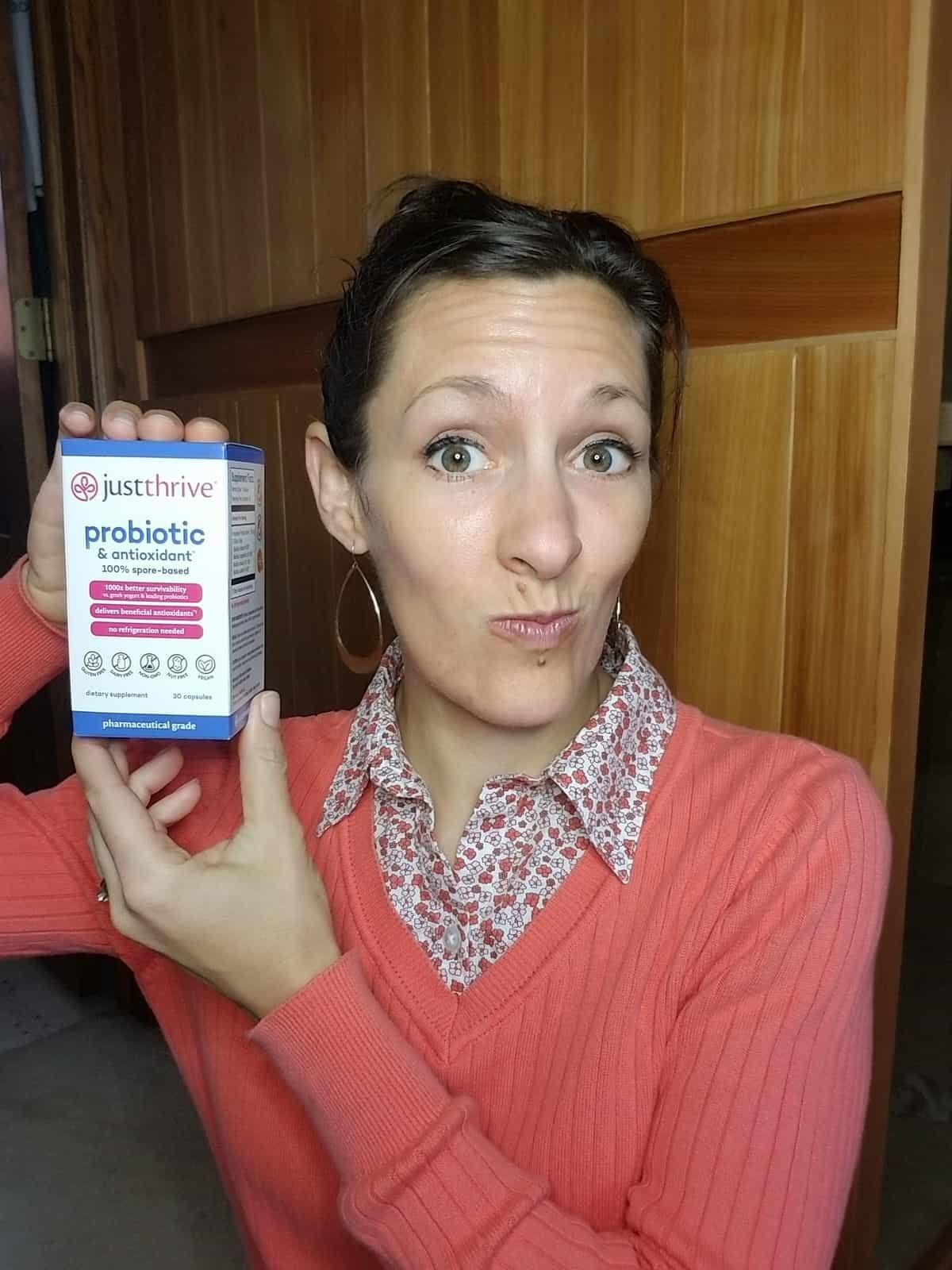 JustThrive probiotic