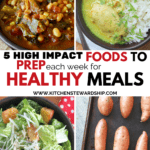 foods to prep for healthy meals