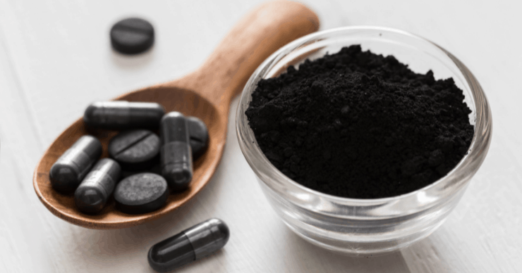 activated charcoal as a remedy for vomiting