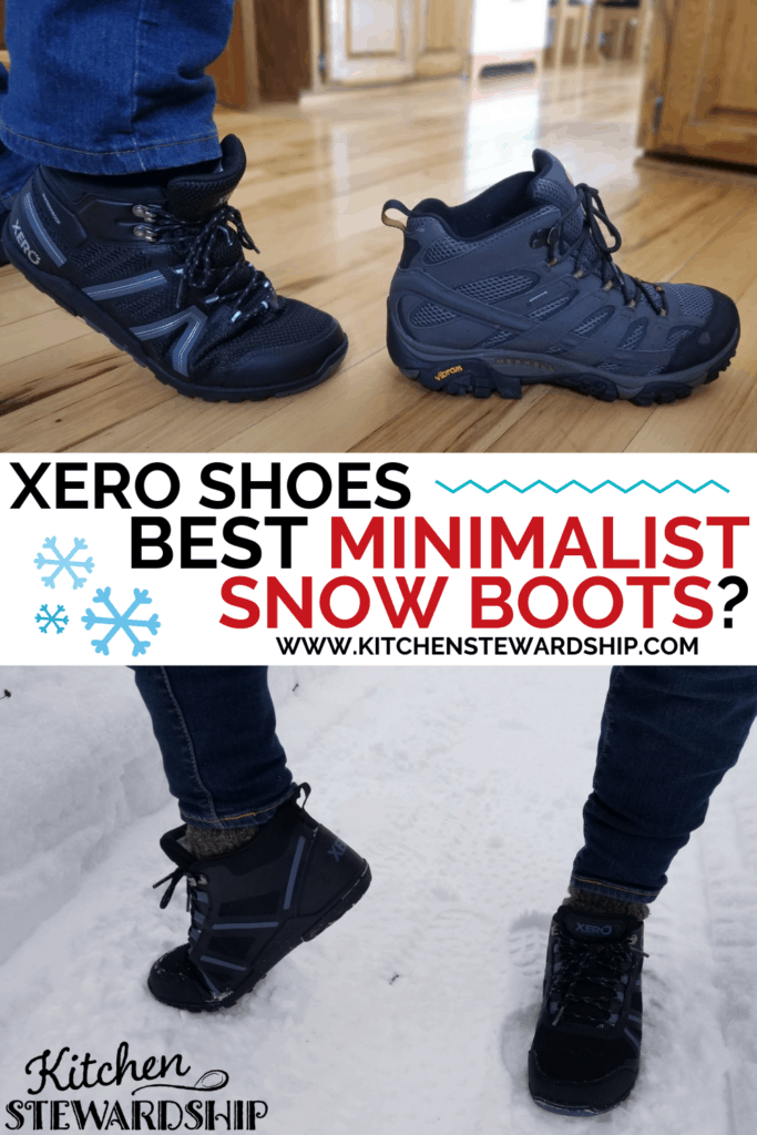 Xero shoes: best minimalist snow boots?