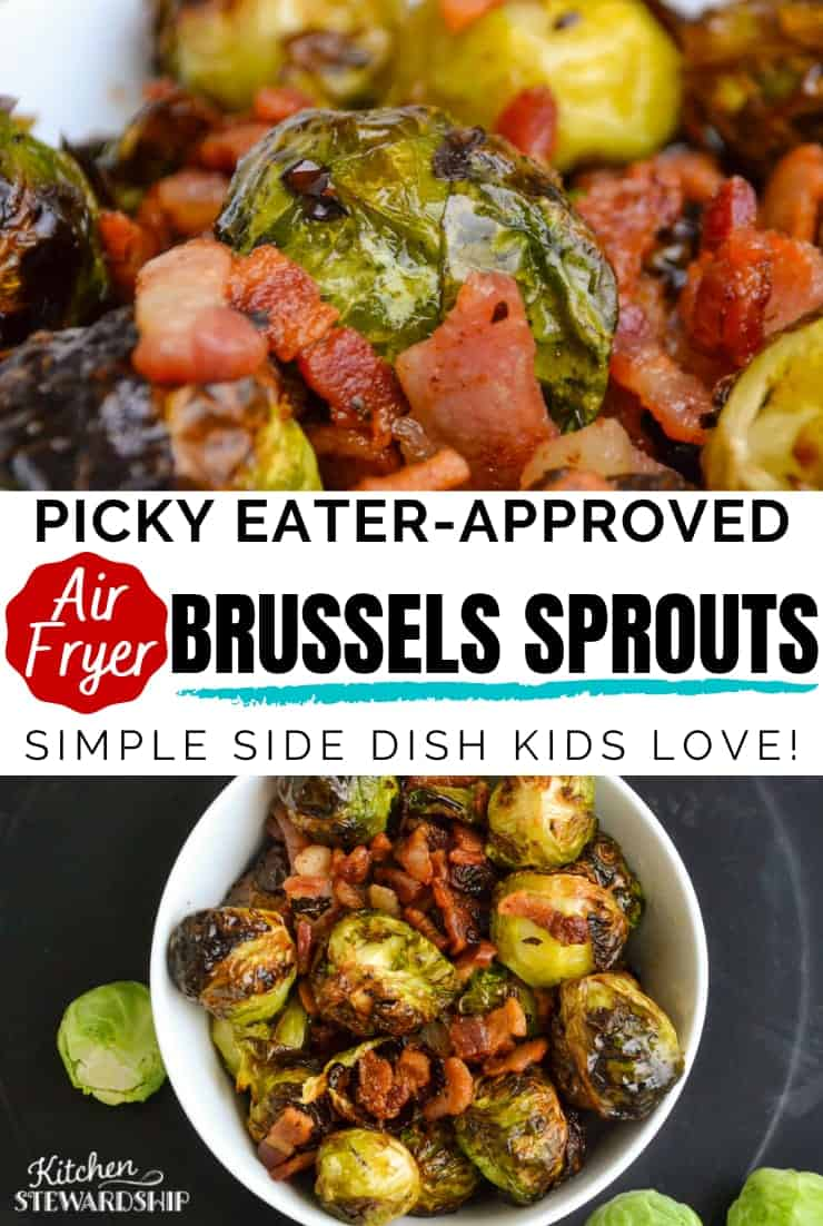 picky eater approved air fryer brussels sprouts