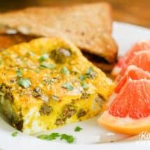 Dairy-Free Breakfast Egg Bake Recipe Kids Love