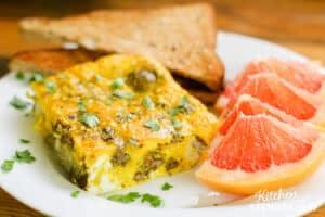 dairy-free breakfast egg bake