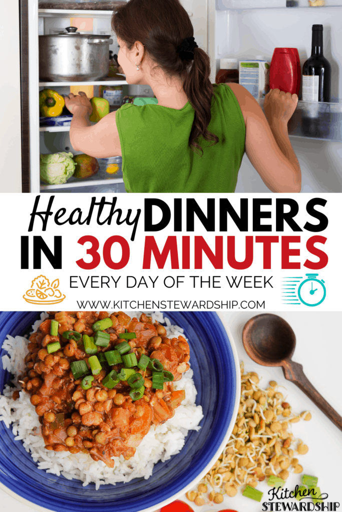 healthy dinners in 30 minutes