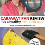 Caraway pan review