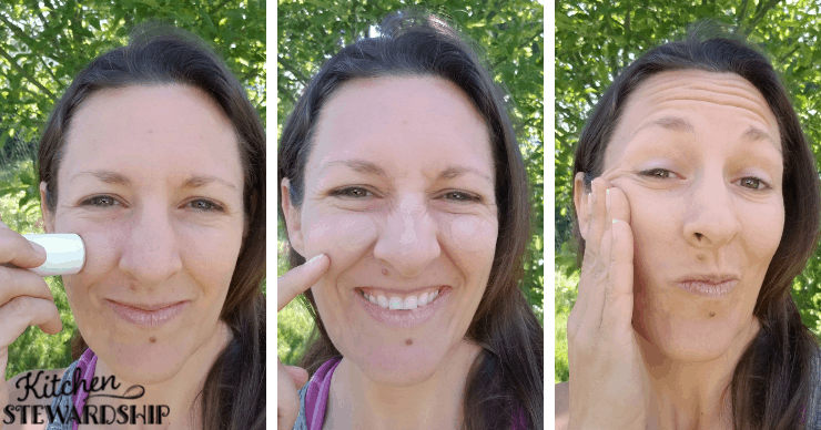 applying mineral sunscreen correctly to your face