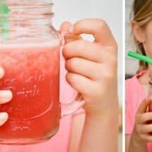 Simple Snack Kids Can Make: Hydrating Watermelon Slushie Recipe (No Added Sugar!)